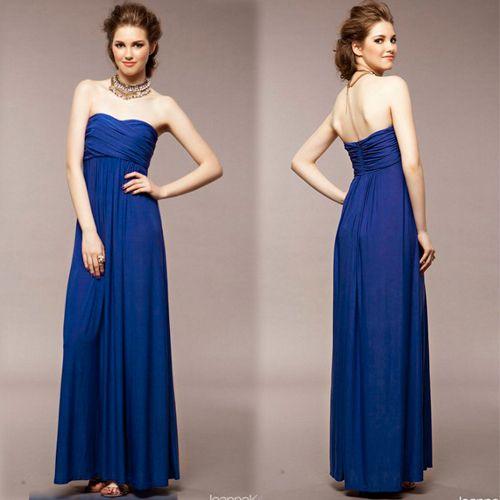 f8db470373 Vestido longo azul  09  - Kyka Blue Store